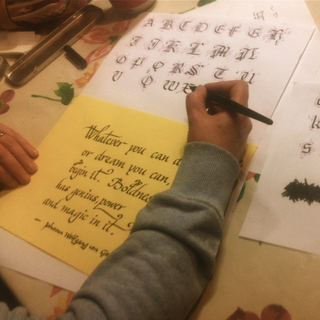Calligraphy Workshops With Shay Cunningham