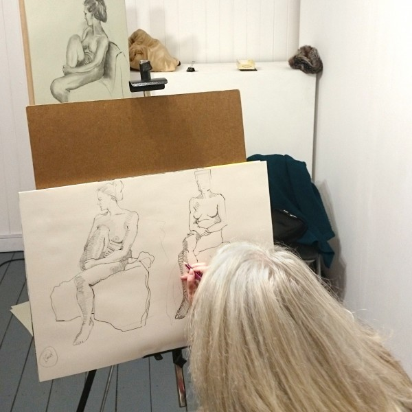 Life-drawing Classes with John Hedlam