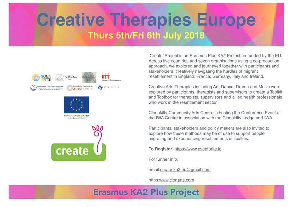 Creative Therapies Europe